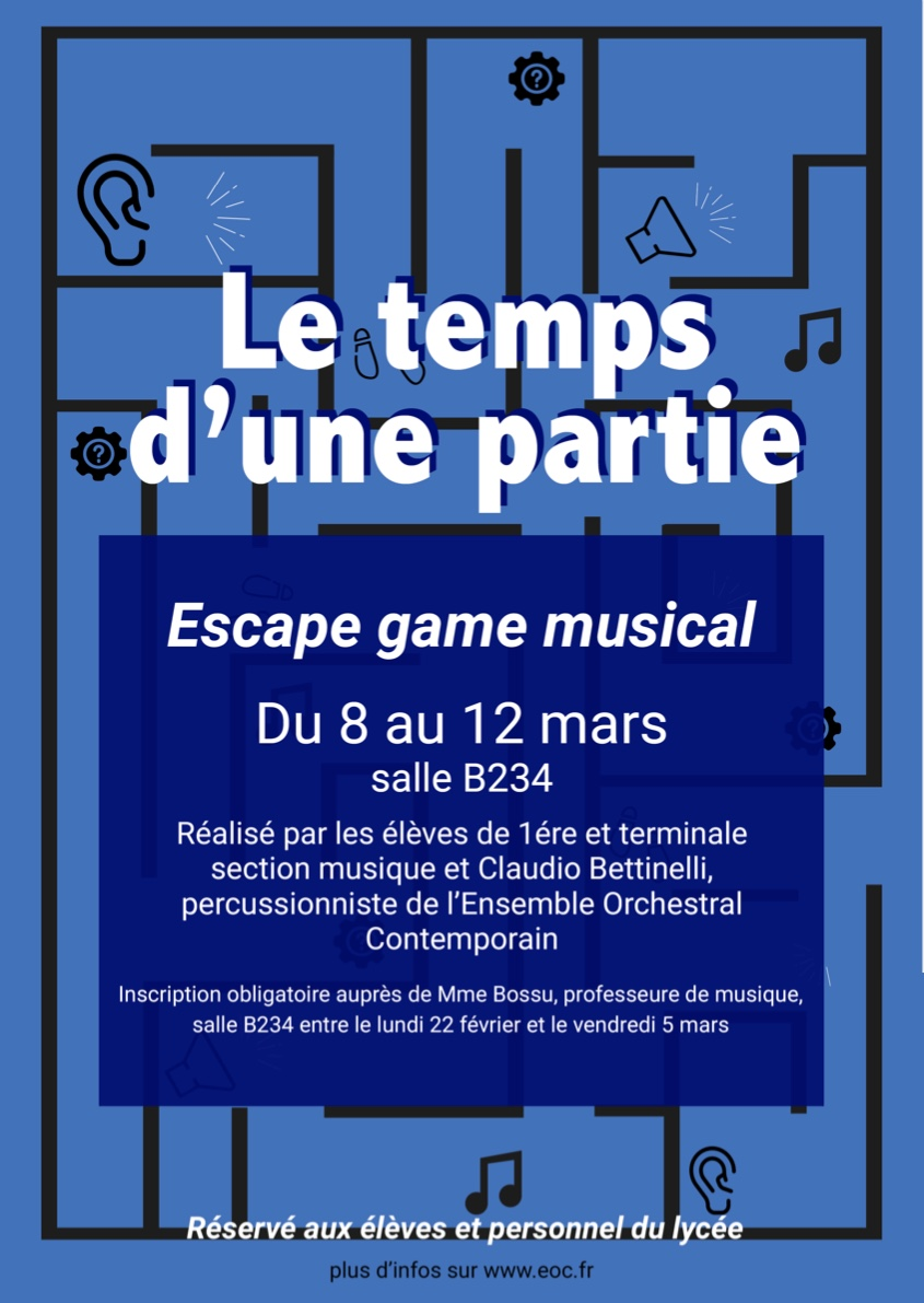 escape game musique