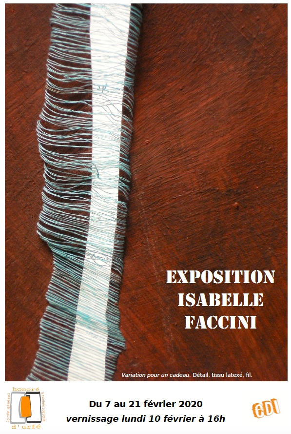 affiche Isabelle Faccini